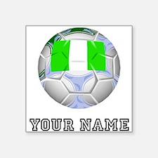 Nigeria Soccer Ball (Custom) Sticker