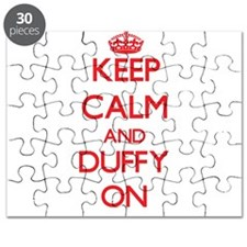 Keep Calm and Duffy ON Puzzle