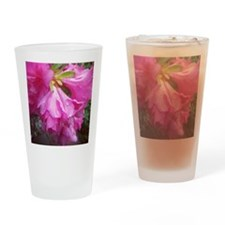 Pink Spring Drinking Glass