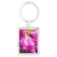 Pink Spring Portrait Keychain