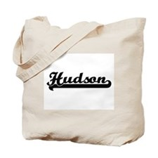 Hudson Classic Retro Name Design Tote Bag