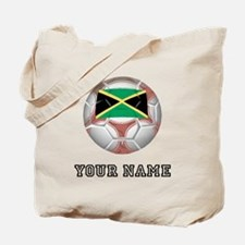 Jamaica Soccer Ball (Custom) Tote Bag