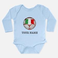 Italy Soccer Ball (Custom) Body Suit