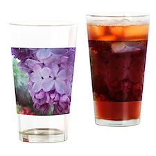 Purple Spring Drinking Glass