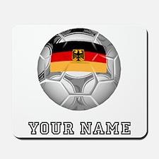 Germany Soccer Ball (Custom) Mousepad