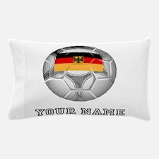 Germany Soccer Ball (Custom) Pillow Case