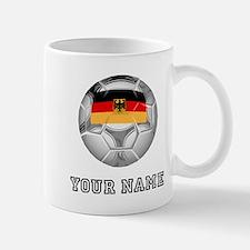 Germany Soccer Ball (Custom) Mugs