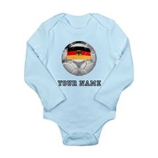 Germany Soccer Ball (Custom) Body Suit