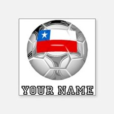 Chile Soccer Ball (Custom) Sticker