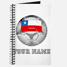 Chile Soccer Ball (Custom) Journal