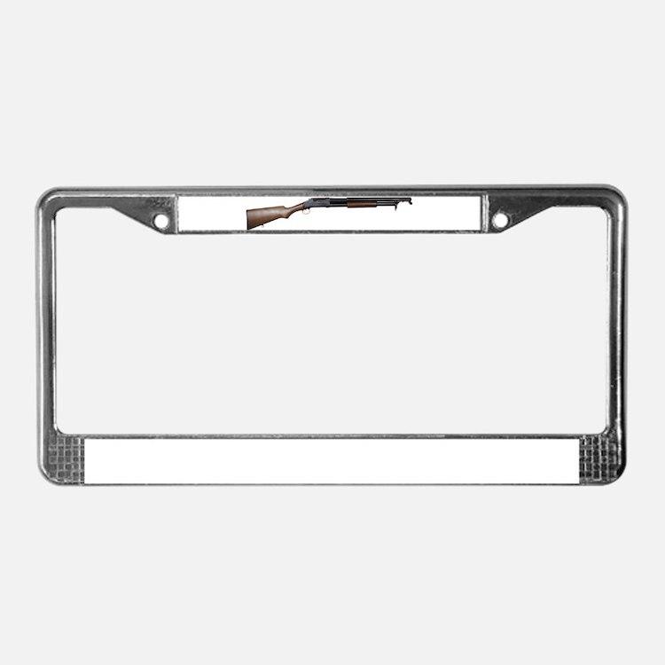 ShotGun License Plate Frame
