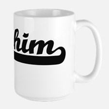 Ibrahim Classic Retro Name Design Mugs