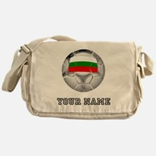 Bulgaria Soccer Ball (Custom) Messenger Bag