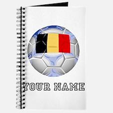 Belgium Soccer Ball (Custom) Journal