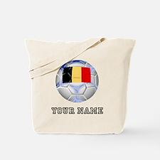 Belgium Soccer Ball (Custom) Tote Bag