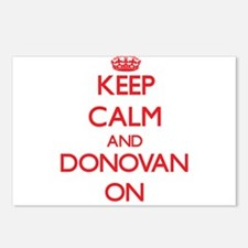 Keep Calm and Donovan ON Postcards (Package of 8)