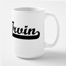 Irvin Classic Retro Name Design Mugs