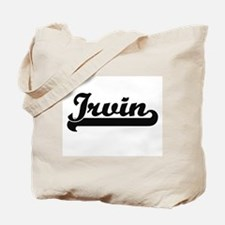 Irvin Classic Retro Name Design Tote Bag