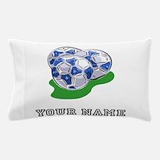 Soccer Balls (Custom) Pillow Case
