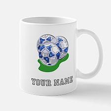 Soccer Balls (Custom) Mugs
