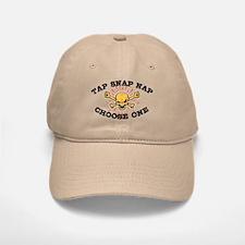 Tap Snap Nap Baseball Baseball Cap