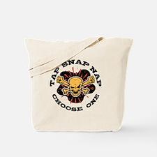 Tap Snap Nap Tote Bag