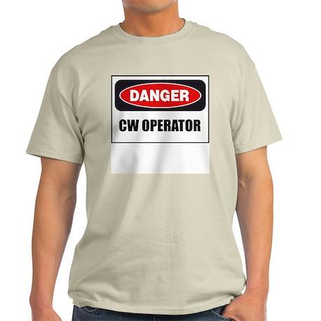 Danger - CW Operator Light T-Shirt