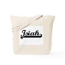 Isiah Classic Retro Name Design Tote Bag