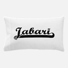 Jabari Classic Retro Name Design Pillow Case