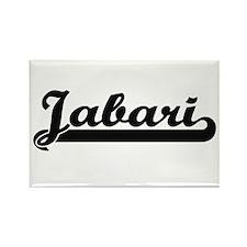 Jabari Classic Retro Name Design Magnets