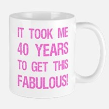 Women's 40th Birthday Mug
