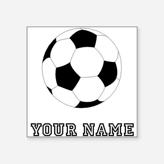 Soccer Ball (Custom) Sticker