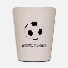 Soccer Ball (Custom) Shot Glass