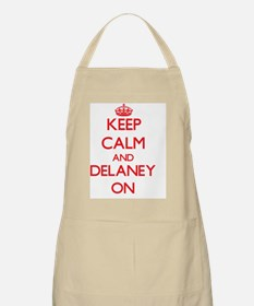 Keep Calm and Delaney ON Apron