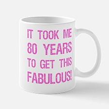 Women's 80th Birthday Mug