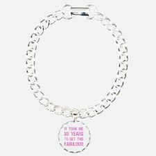 Women's 80th Birthday Bracelet