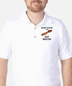 Funny Eating bacon T-Shirt