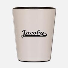 Jacoby Classic Retro Name Design Shot Glass