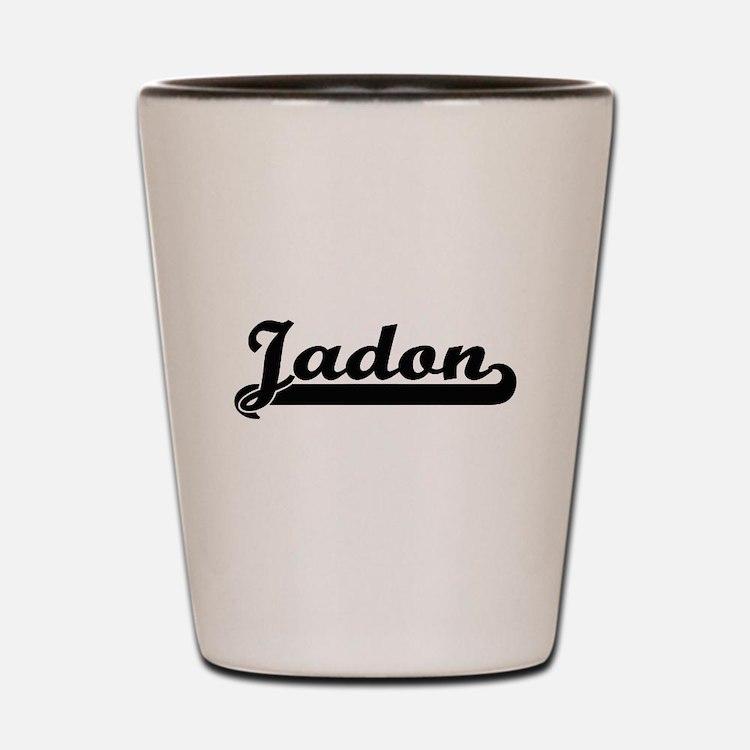 Jadon Classic Retro Name Design Shot Glass