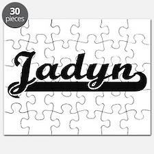 Jadyn Classic Retro Name Design Puzzle
