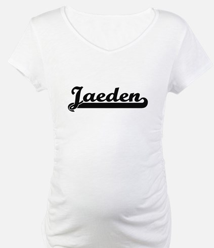 Jaeden Classic Retro Name Design Shirt