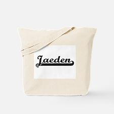 Jaeden Classic Retro Name Design Tote Bag