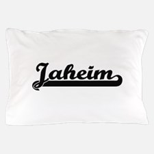Jaheim Classic Retro Name Design Pillow Case