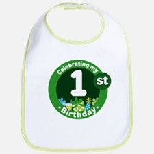 1st Birthday Celebration Party Bib