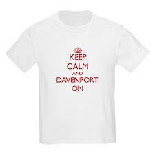 Keep Calm and Davenport ON T-Shirt