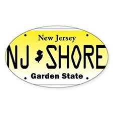 Funny Jersey shore Decal