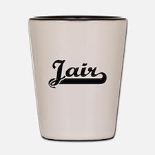 Jair Classic Retro Name Design Shot Glass