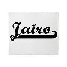 Jairo Classic Retro Name Design Throw Blanket