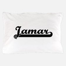 Jamar Classic Retro Name Design Pillow Case