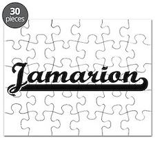 Jamarion Classic Retro Name Design Puzzle